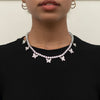 Butterfly Tennis Chain - Silver
