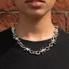 Barbed Wire Choker Chain