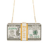 Money Rhinestone Purse