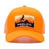 Save The Rain Forest Trucker Hat - Orange