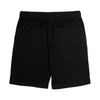 No Faith Cotton Shorts - Black