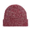 Rubber Patch Ribbed Marbled Beanie