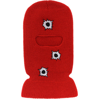 Gunshots One Hole Ski Mask