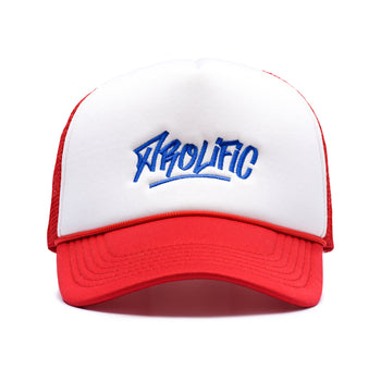 Graffiti Logo Trucker Hat