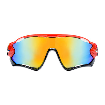 Cycling Glasses - Red Frame