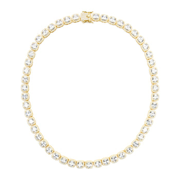 Square Cut Tennis Chain