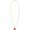 Crystal Rope Chain - Red