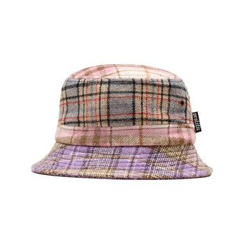 Multi Color Plaid Bucket Hat