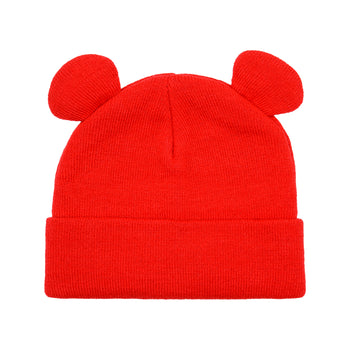 Mickey Beanie - Red