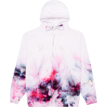 Princess Tie Dye Zip Up Hoodie