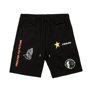 Pray For The Future Shorts - Black