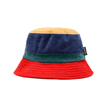 Multi Colored Corduroy Bucket Hat