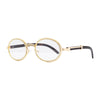 Trapper Glasses - Rhinestone/Clear