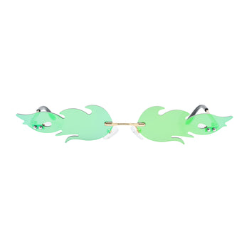 Flame Glasses - Green