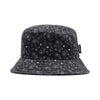 Paisley Bucket Hat - Black