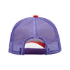 Motion Logo Trucker Hat - White/Red/Purple