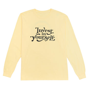 Invest In Yourself Long Sleeve Tee
