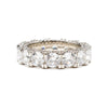 Diamond Row Ring - Silver