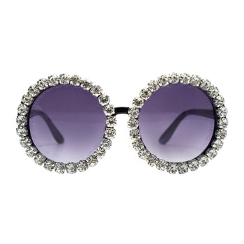 Diamond Round Glasses