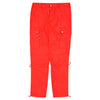 Elastic Techno Cargo Pants - Red