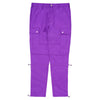 Elastic Techno Cargo Pants - Purple