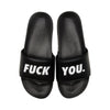 F You Slides - Black