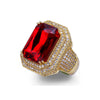 Ruby Ring - Gold