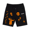 Halloween Cotton Shorts