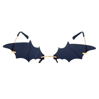 Bat Wings Glasses - Black