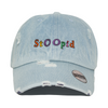 Stoopid Hat - Distressed Denim