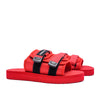 Prolific Velcro Slides - Red