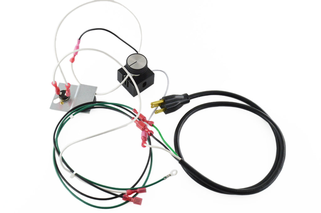 Complete Fan Wiring Harness With Magnetic Heat Disk and Speed Control