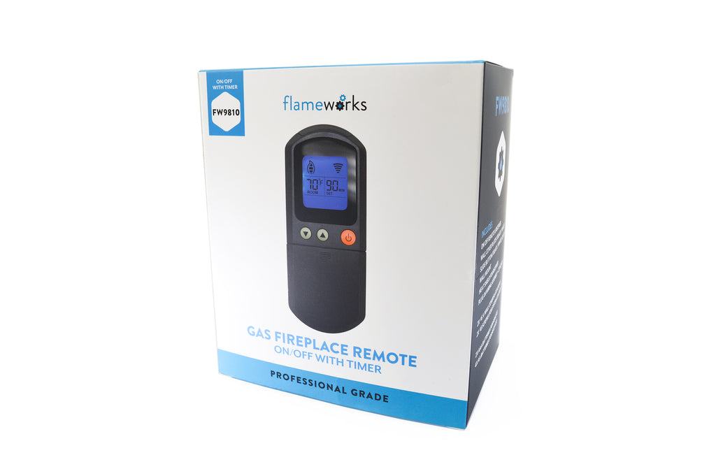 Flameworks On/Off Gas Fireplace Remote with Timer