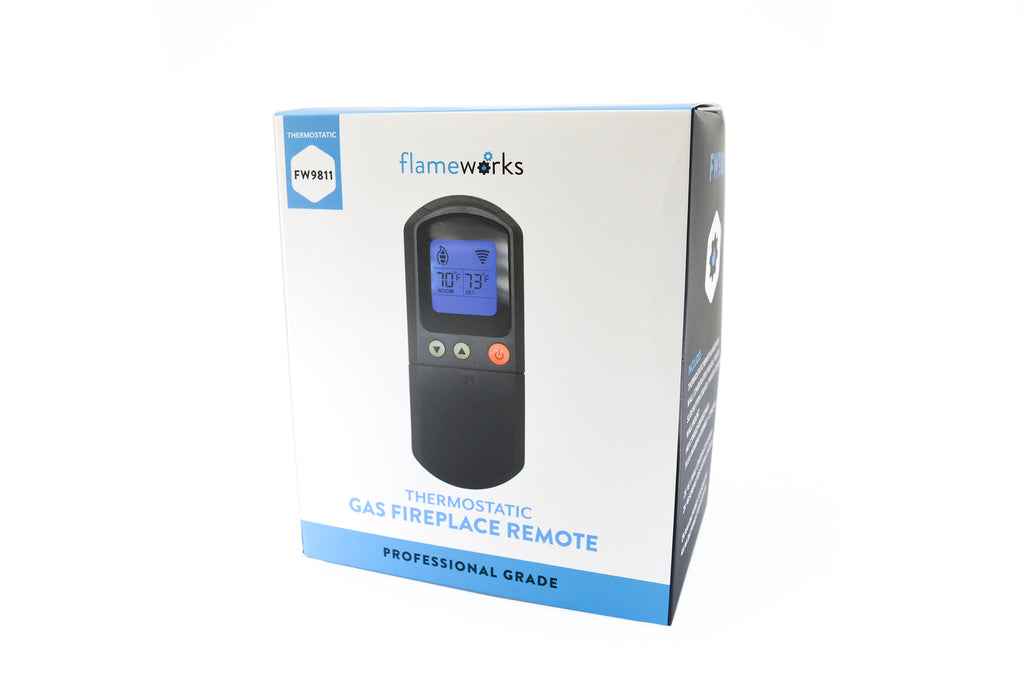 Flameworks Thermostatic Gas Fireplace Remote