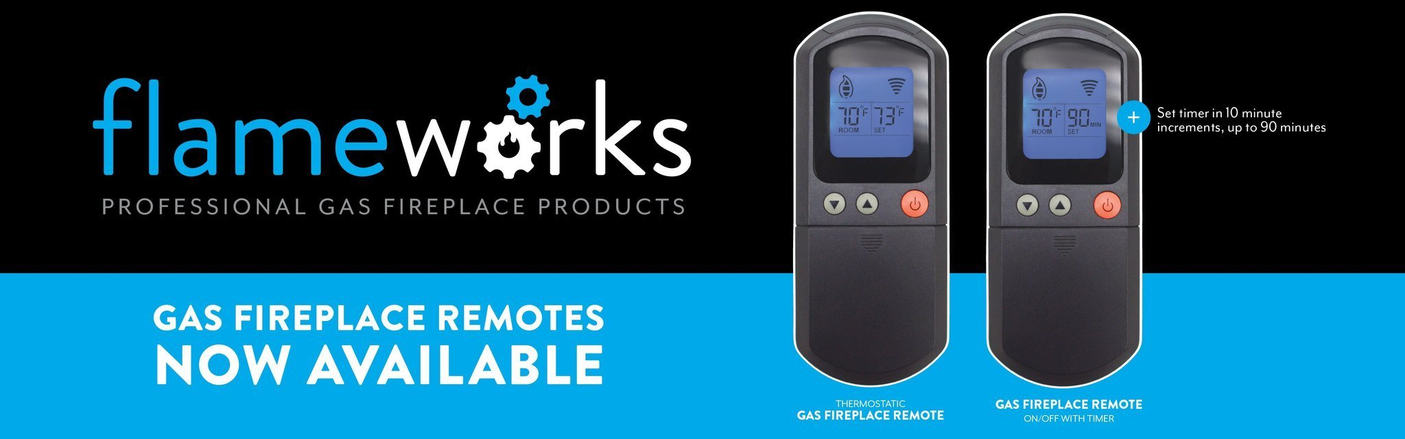 Flameworks Gas Thermostat, Available Now