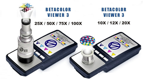 BetaColor Viewer Model 3 - Visual CMYK Color Separation & Magnification