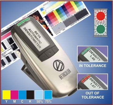 BETACOLOR S2 XPRESS COLOR DENSITOMETER - FAST, EASY & AFFORDABLE