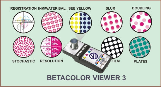 BETACOLOR VIEWER 3 (25X) - SEE YELLOW AS CLEARLY AS BLACK!