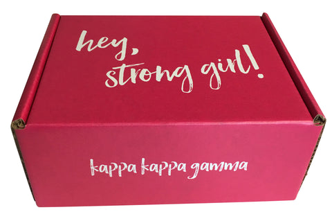 The Strong Movement Strong Girl Bid Day Gift Box Kappa
