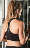 The Classic Racerback Sports Bra - Black