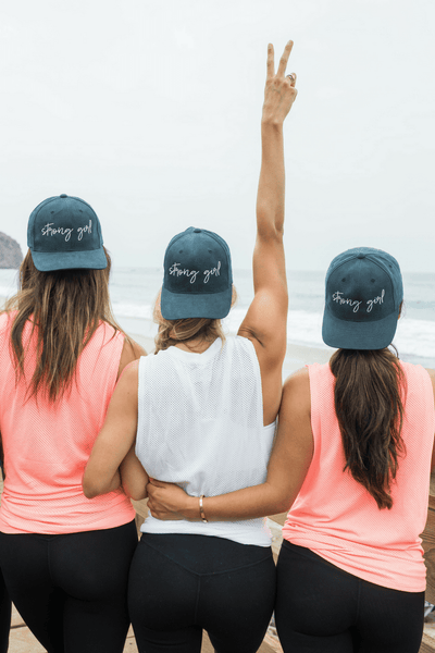 NEW! STRONG GIRL HATS!