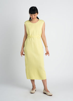 Sài Sleeveless Side Tie Dress