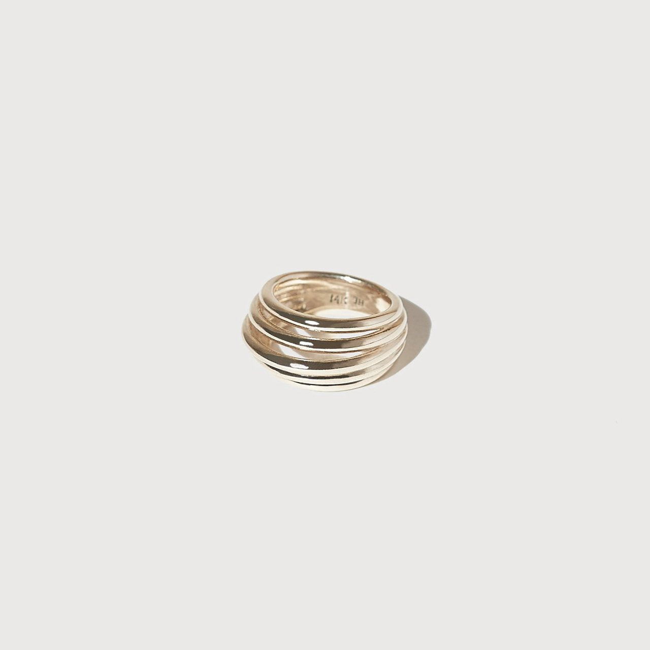Stacked Form Ring
