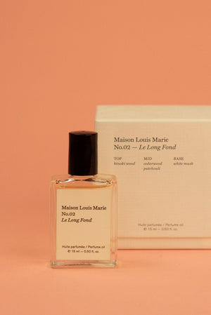 No.02 Le Long Fond- Perfume Oil