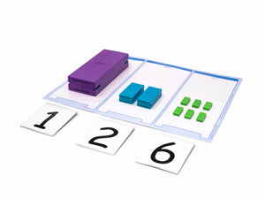 3-Place Place Value Mat (with digit cards)