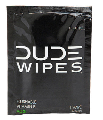 Dude Wipes 30 Pack Singles