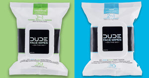 DUDE Face Wipes