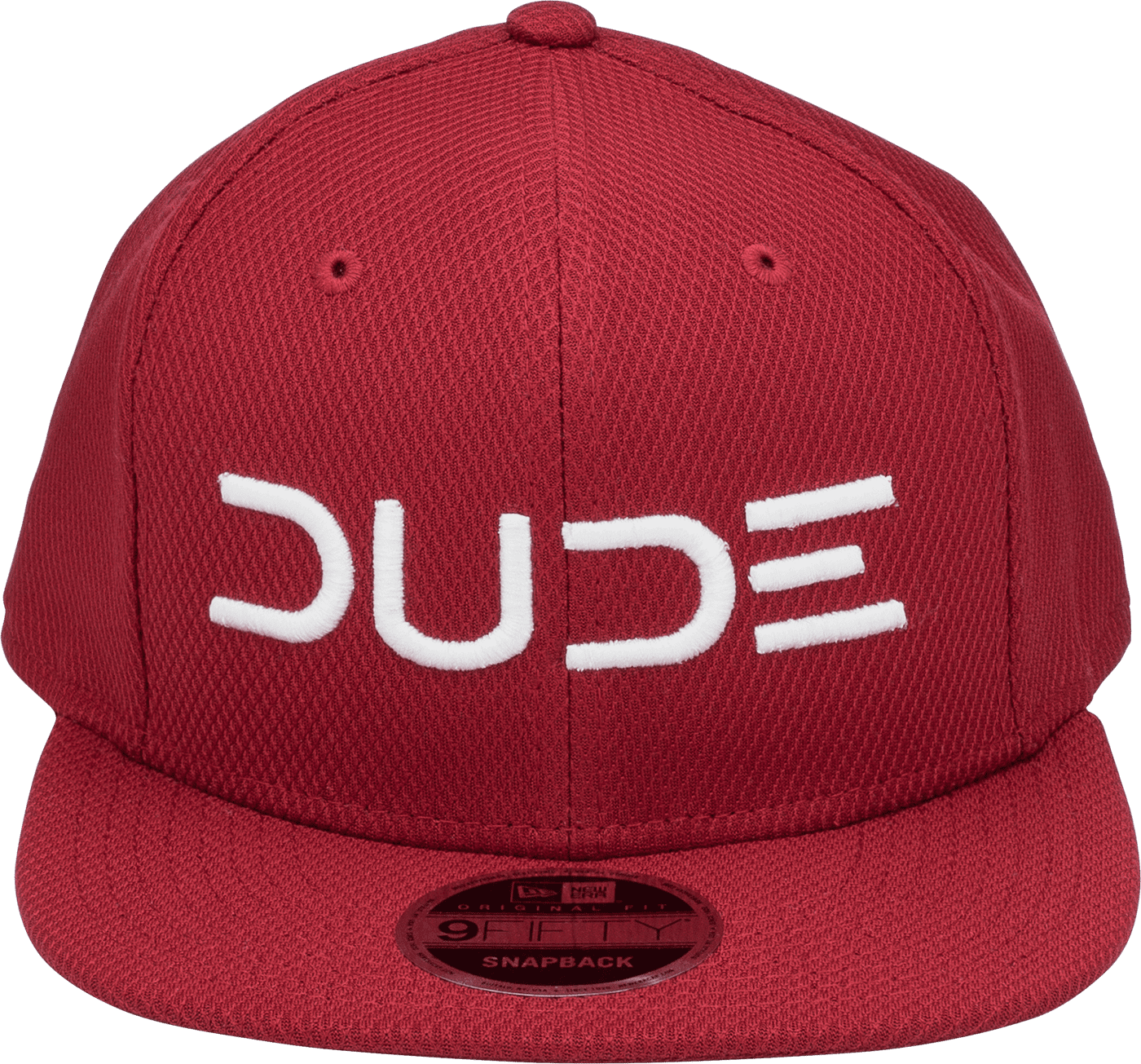 Crimson & White, Mesh Snapback - DudeProducts