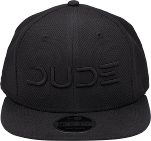 Black On Black, Mesh Snapback - DudeProducts