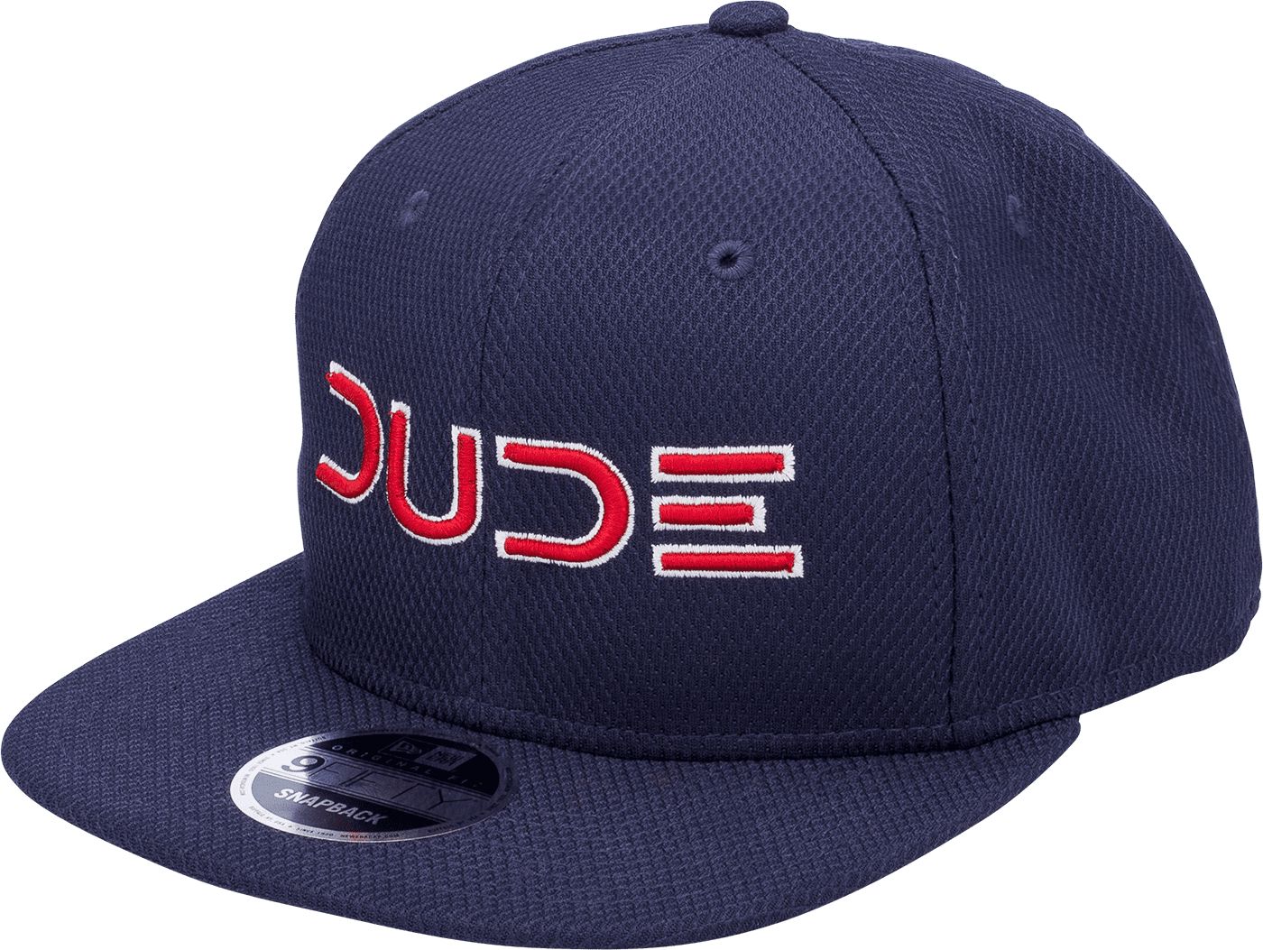 Navy & Red, Mesh Snapback - DudeProducts